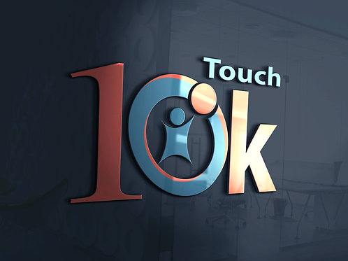 Touch 10K Prayer Cards (100 Count)