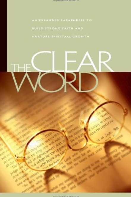 Clear Word Bible - Paperback