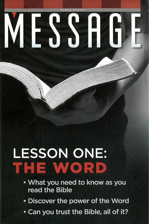 Message Bible Studies