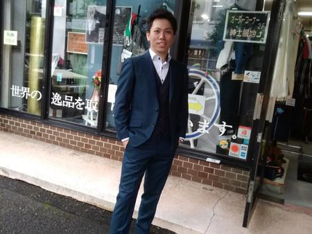 【ドーメルアマデュース】日本で何着か?のスーツです。