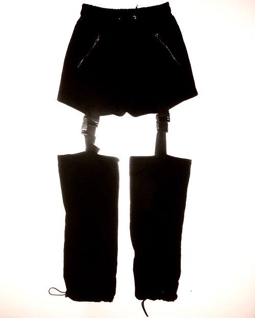 Adjustable Garter Drawstring Pants