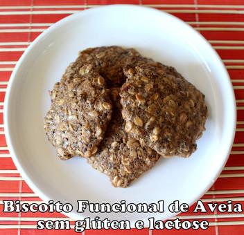 Biscoito Funcional de Aveia Sem Glúten e Lactose