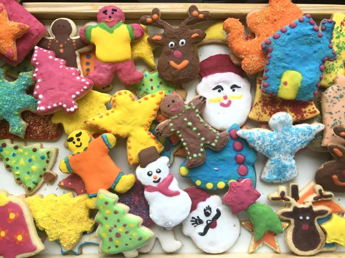 Bolacha de Natal Decorada