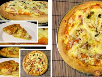 Pizza com Borda Recheada e Massa Fina