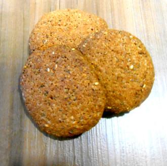 Biscoito de Chia e Gergelim Diet