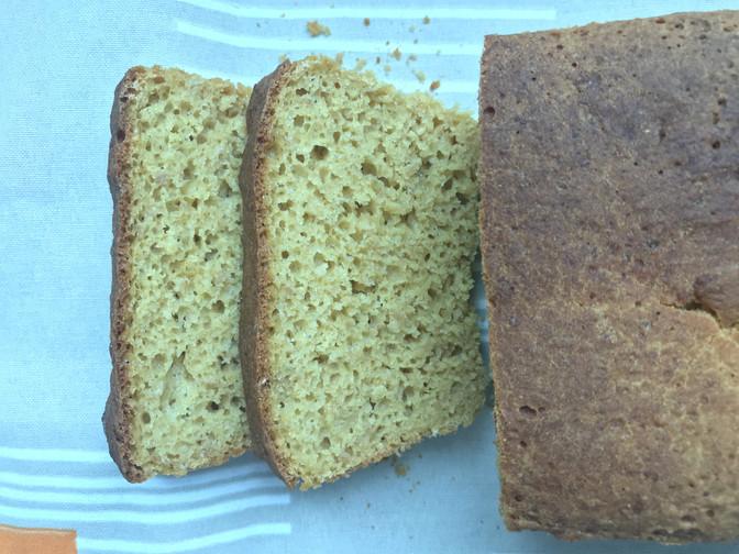 Pão de Milho sem glúten e lactose