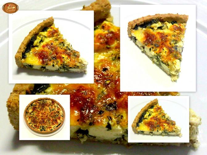 Torta de Espinafre e Ricota sem glúten