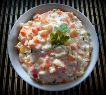 Salada de Maionese Caseira