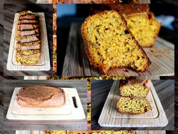 Pão de Cenoura - livre de glúten e lactose