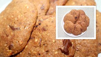 Biscoito de Chocolate com Castanha de Caju