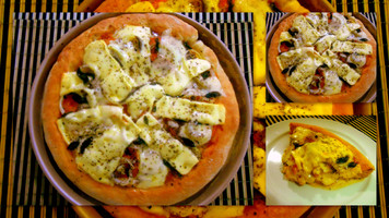Pizza: massa grossa e macia