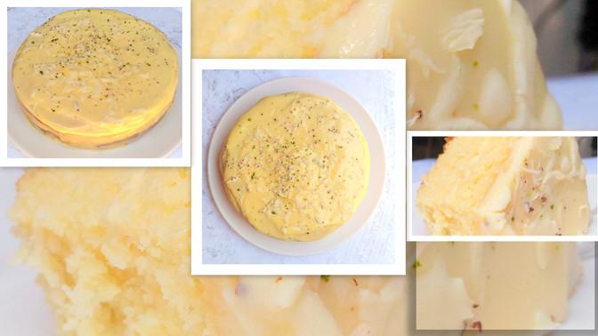 Bolo de Limão recheado