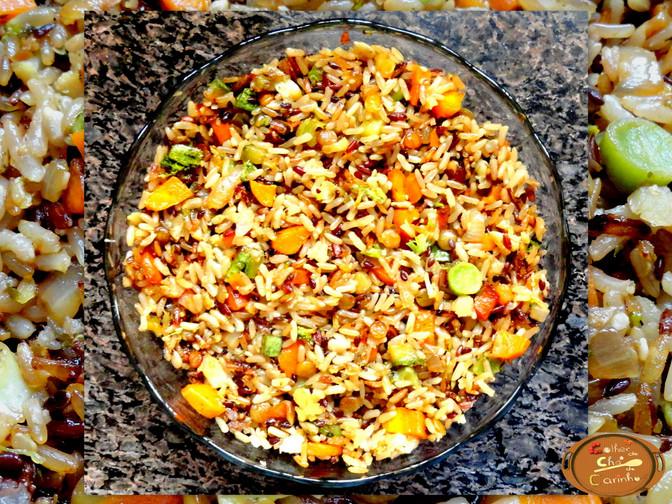 Arroz 7 Grãos Integrais com legumes