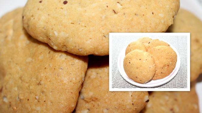 Biscoito de Chocolate Branco com Castanha do Pará