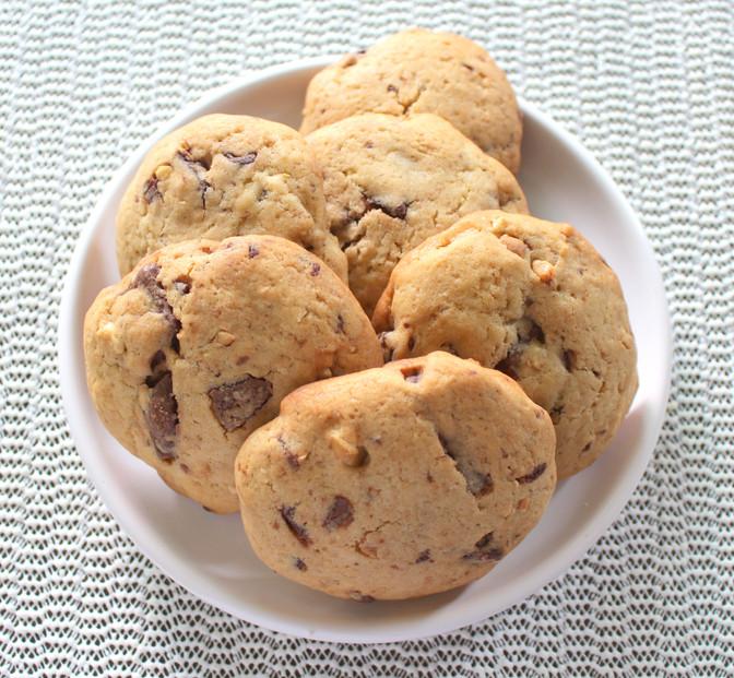 Cookie de Chocolate com Castanha de Caju