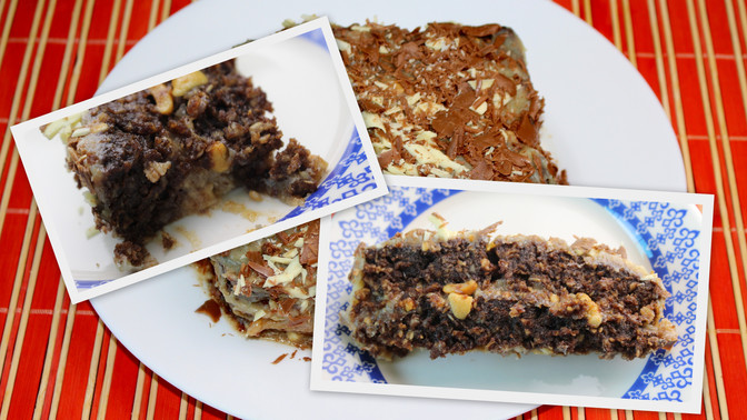 Torta Brownie de Chocolate