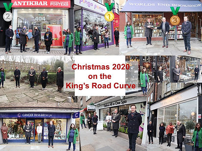 Christmas Prizegiving King's Road Curve