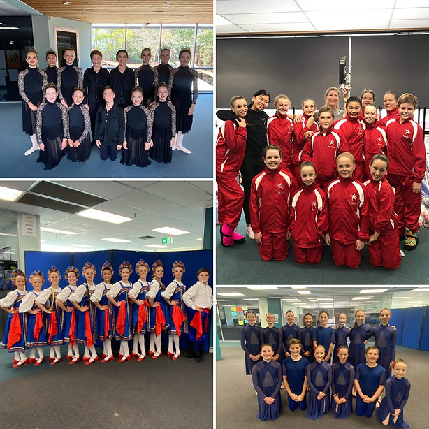 Vieira Dance School Performance Troupe