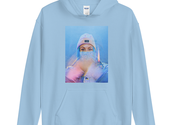 'QUEEN OF FEMO' ICEY LIMITED EDITION UNISEX HOODIE