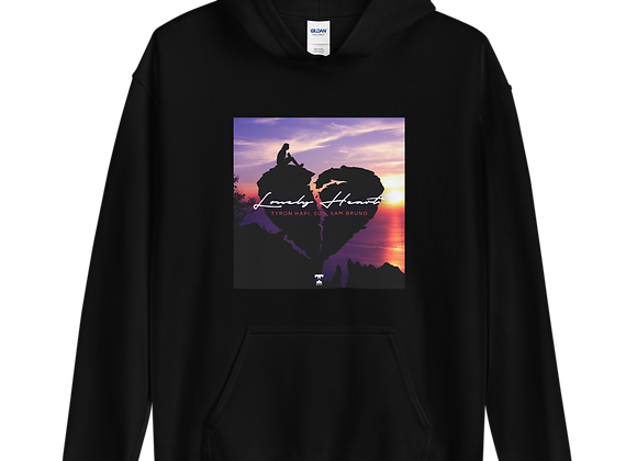 'LONELY HEART' OFFICIAL ARTWORK LIMITED EDITION UNISEX HOODIE