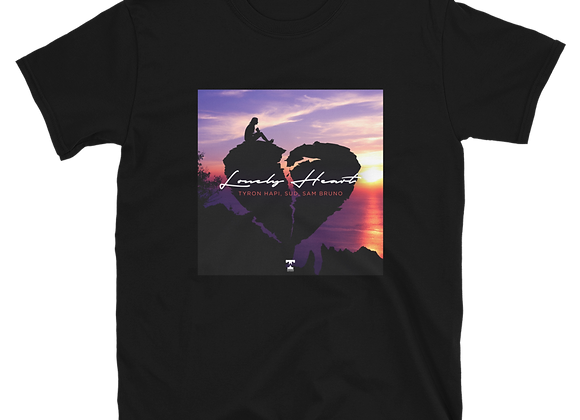 'LONELY HEART' OFFICIAL ARTWORK LIMITED EDITION UNISEX TEE