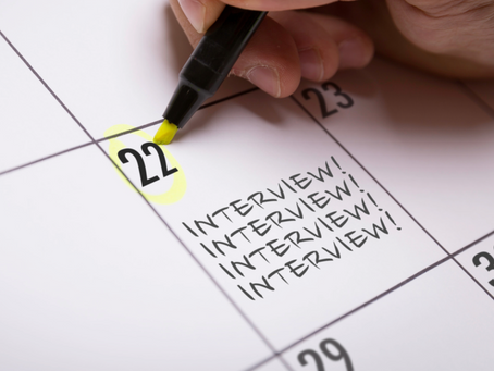 The answer was no. How do you recover and ace your next interview?