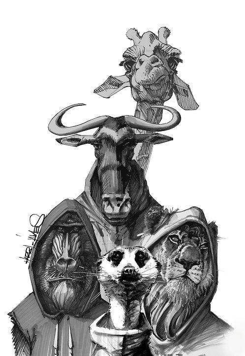 Kacekode - Print A5