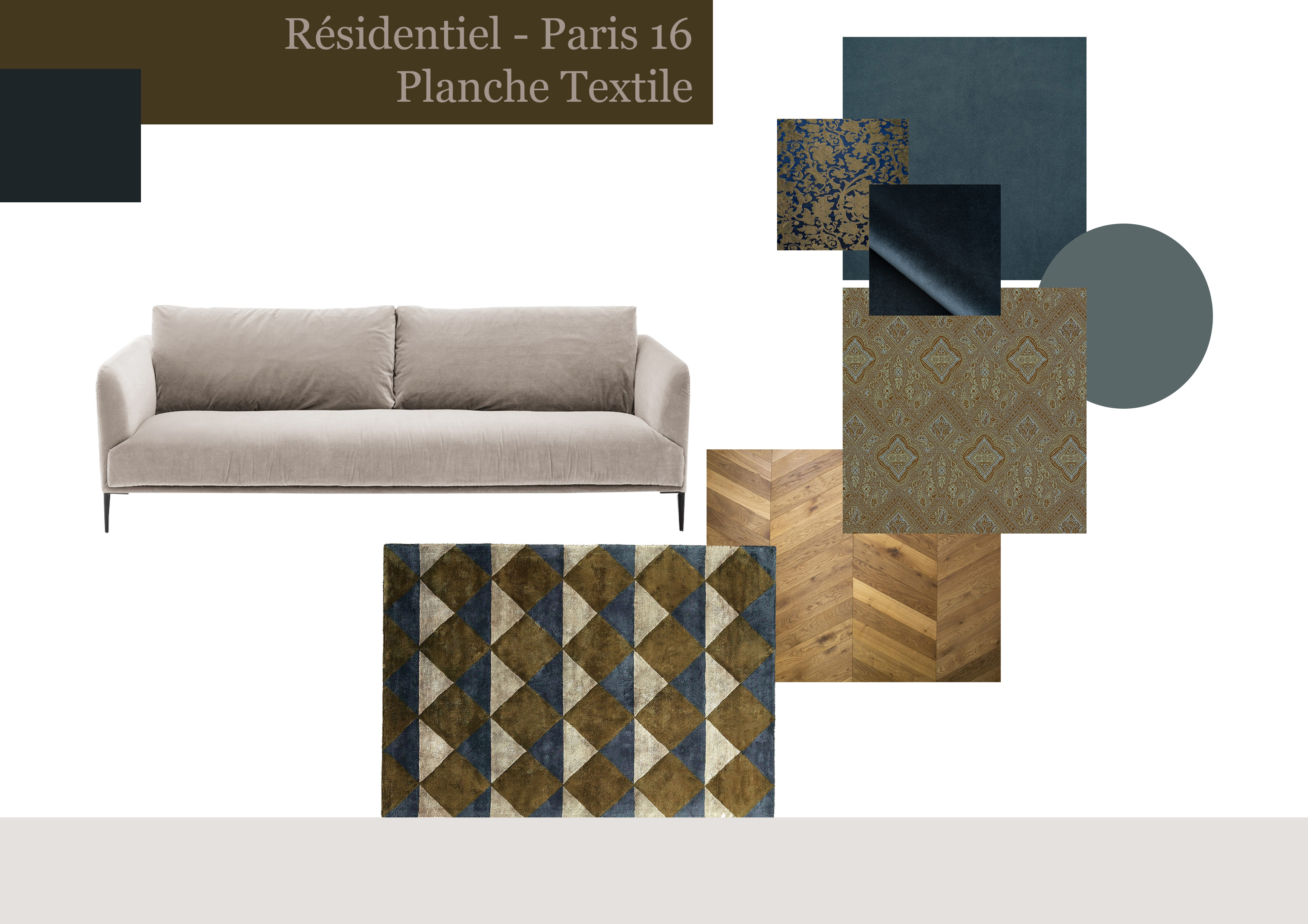 Planche Textile #Salon - Paris 16