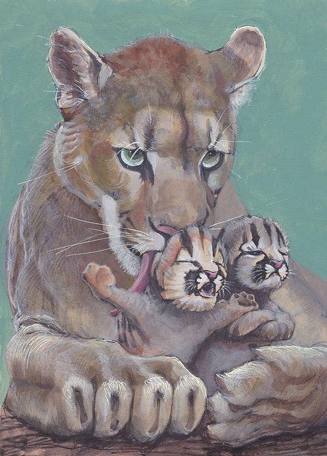 Maman & Bébés Puma - Original A4