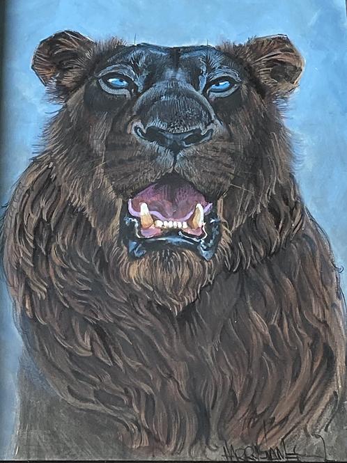 Lion noir - Original
