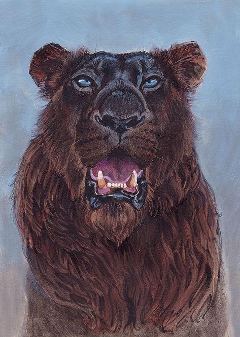 Lion Noir - Original A4