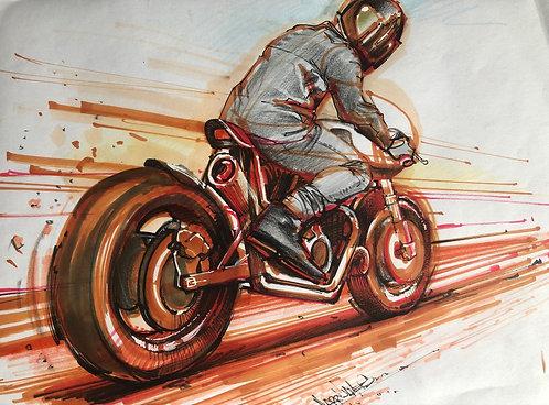 Biker - Original