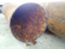 tubi acquedotto sporchi