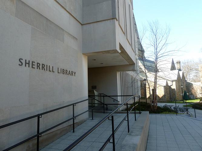 Luba Lukova's work on view at Sherrill Library, Cambridge, Massachusetts
