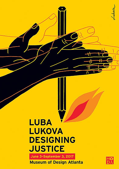 Luba Lukova: Designing Justice at Museum of Design Atlanta