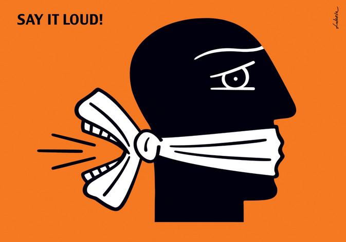 Say It Loud by Luba Lukova