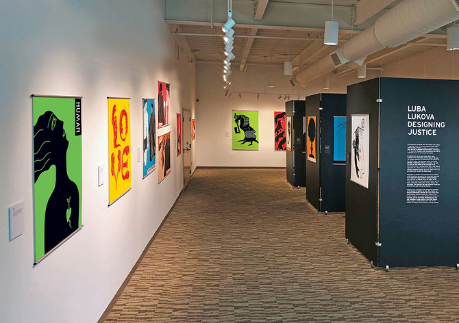 Luba Lukova: Designing Justice at Walter J. Manninen Center for the Arts, Beverly, MA