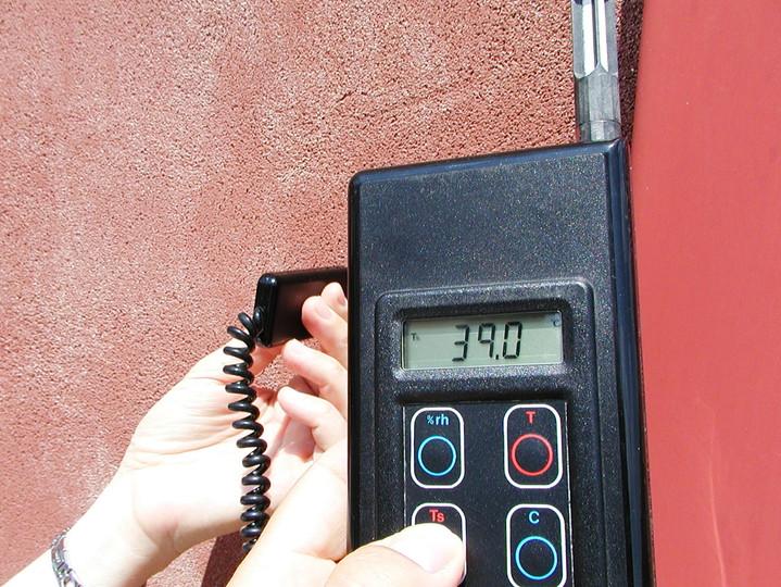 temperatura superfici