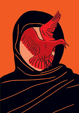 Bird by Luba Lukova
