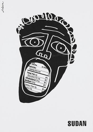 Sudan by Luba Lukova.
