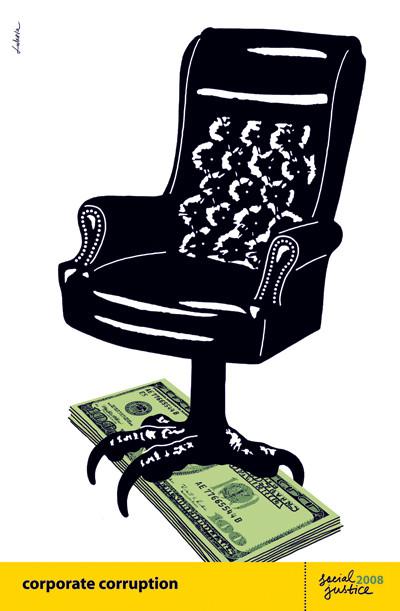 Corporate Corruption by Luba Lukova.