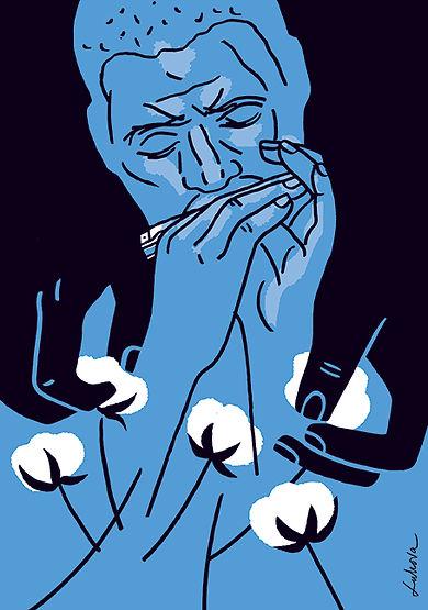 Delta Blues by Luba Lukova