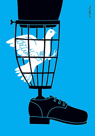 War and Peace by Luba Lukova