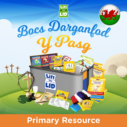 Codi'r Caead ar Y Pasg | Lift the Lid on Easter (Welsh)