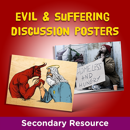 Exploring Evil and Suffering: Discussion Posters