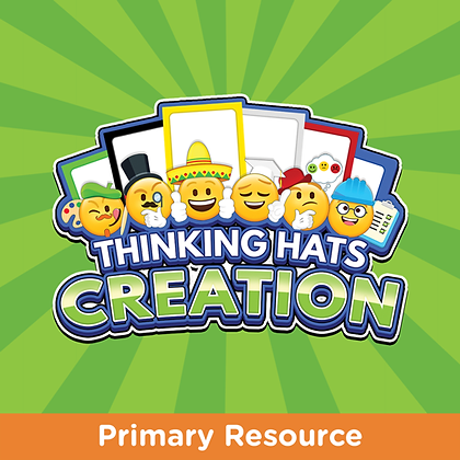 Creation Thinking Hats Cards