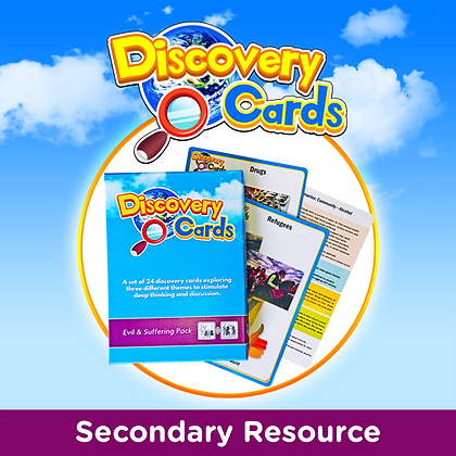 Discovery Cards on Evil & Suffering