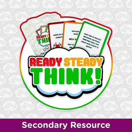 Ready Steady Think Cards