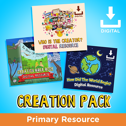 Creation Digital Resource Pack
