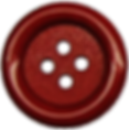 Red sewing button